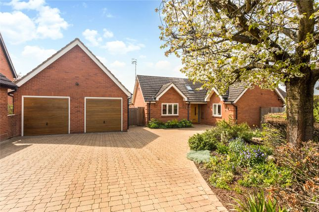 Thumbnail Detached bungalow for sale in Matthews Close, Stratford-Upon-Avon