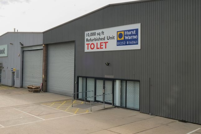 Thumbnail Industrial to let in Invincible Road Industrial Estate, Farnborough