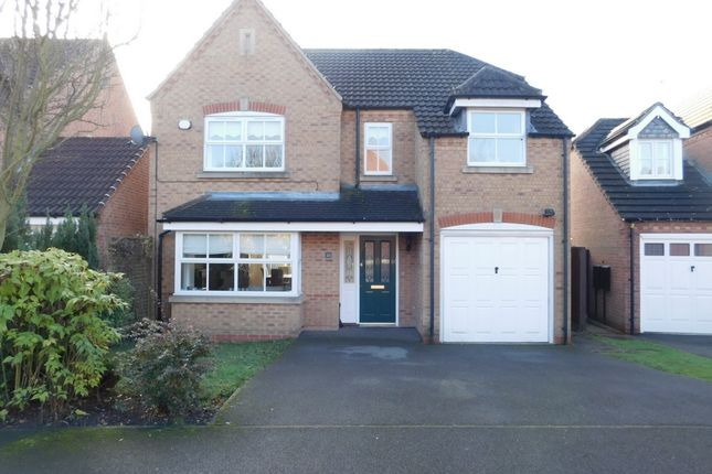 Thumbnail Detached house for sale in Bretby Hollow, Newhall