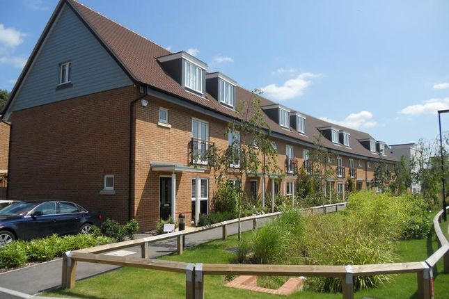 Thumbnail Terraced house to rent in Reeds Meadow, Merstham, Redhill