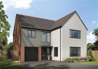 Thumbnail Detached house for sale in The Alder, Holystone Way, Holystone, Newcastle Upon Tyne