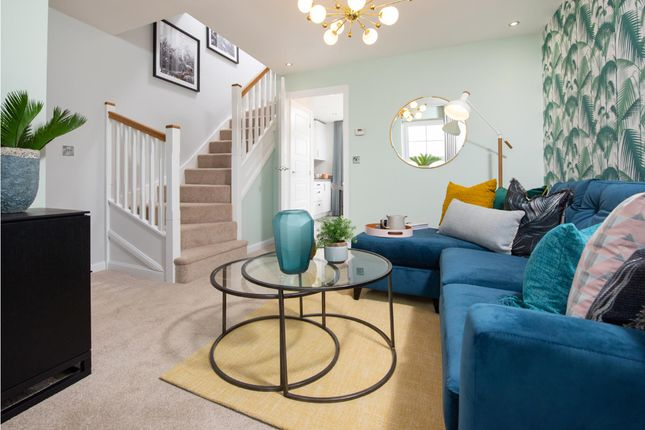 """Thumbnail Semi-detached house for sale in """"Kenley"""" at The Long Shoot, Nuneaton"""
