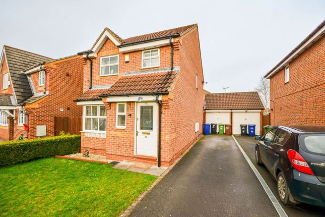 Thumbnail Detached house for sale in 16 Snowdrop Close, Grimsby