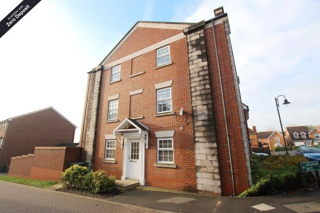 Thumbnail Town house to rent in Rothbart Way, Hampton Hargate
