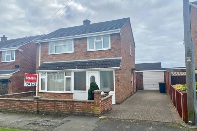 3 bed detached house for sale in Cranmere Road, Melton Mowbray LE13