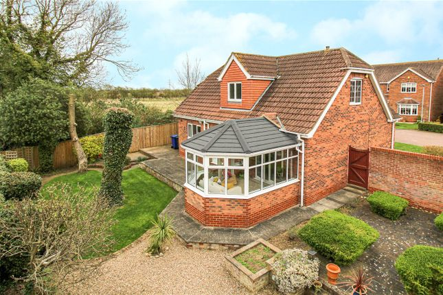 Thumbnail Detached house for sale in Markhams Orchard, Scartho, N E Lincolnshire