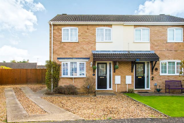 Thumbnail Semi-detached house for sale in Mallows Drive, Raunds, Wellingborough