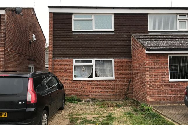 3 bed semi-detached house for sale in Edgecomb Road, Stowmarket