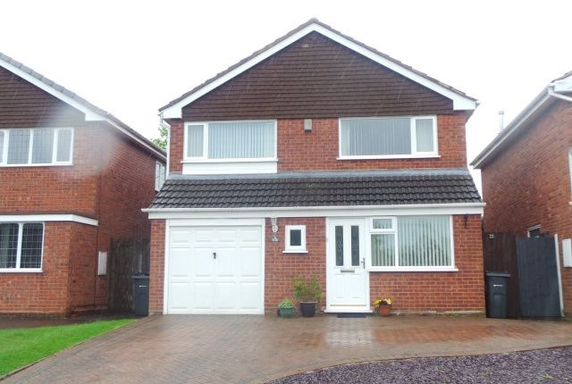 Thumbnail Detached house for sale in Henley Close, Wylde Green, Sutton Coldfield