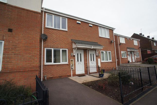 Thumbnail Town house to rent in Bishopgate Square, Chaddesden, Derby