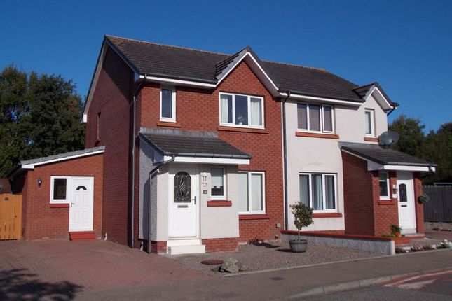 Thumbnail Semi-detached house for sale in Cairnhill Road, Newtonhill, Stonehaven