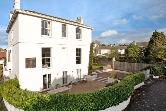 Thumbnail Semi-detached house for sale in Baring Crescent, St. Leonards, Exeter