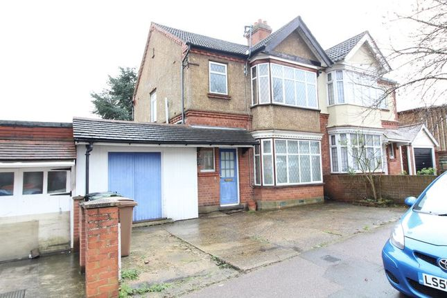 Thumbnail Semi-detached house for sale in Blenheim Crescent, Luton