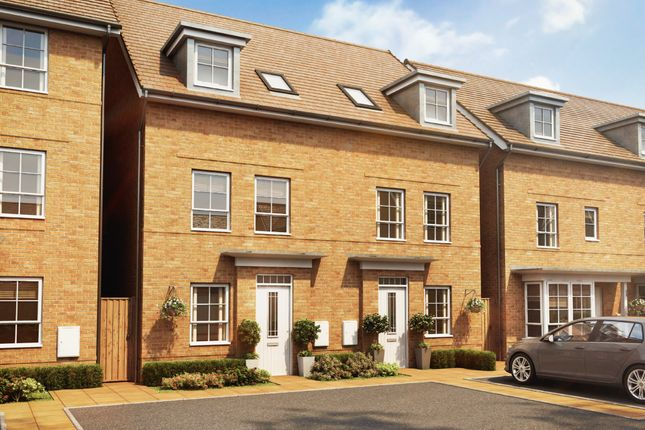"""Thumbnail Semi-detached house for sale in """"Padstow"""" at Ponds Court Business, Genesis Way, Consett"""