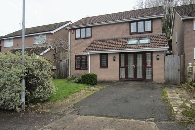 Thumbnail Detached house to rent in Kestrel Close, Cyncoed, Cardiff