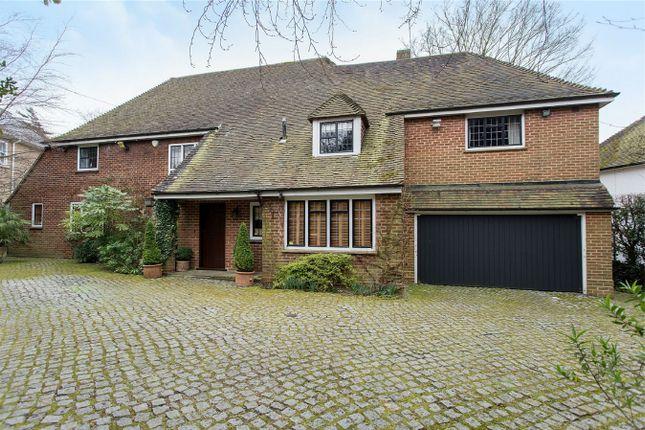 Thumbnail Detached house for sale in Hartsbourne Avenue, Bushey Heath, Hertfordshire