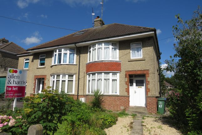 Thumbnail Property to rent in East Yewstock Crescent, Chippenham