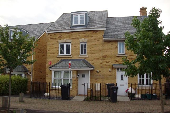 Thumbnail Semi-detached house to rent in Worle Moor Road, Weston Village