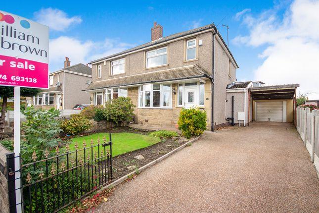 Thumbnail Semi-detached house for sale in High Fernley Road, Wyke, Bradford