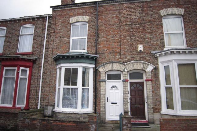 Thumbnail Terraced house to rent in Nicholas Street, York