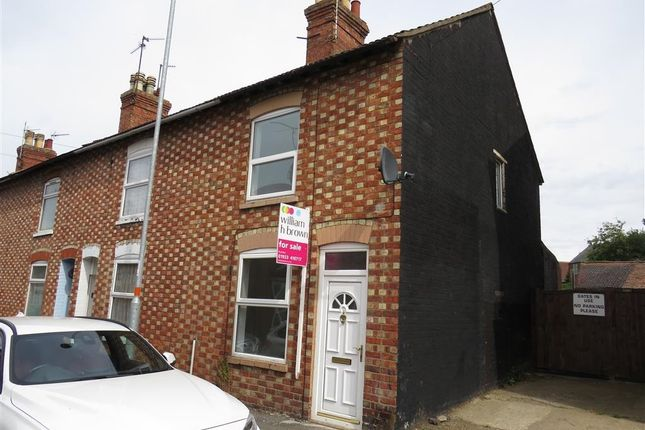 Thumbnail End terrace house for sale in Grove Road, Rushden
