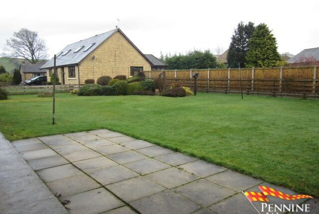 Rear Garden of Irthing Park, Gilsland, Cumbria CA8