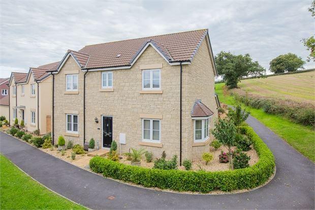 Thumbnail Detached house for sale in Orchard Grove, Highweek, Newton Abbot, Devon.