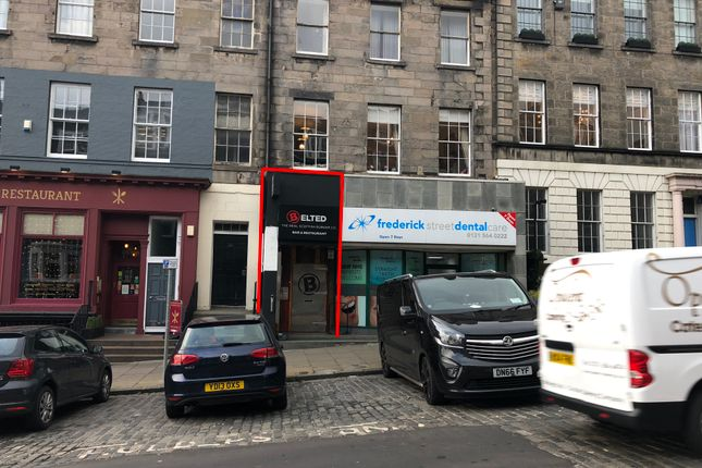 Thumbnail Leisure/hospitality to let in Frederick Street, New Town, Edinburgh