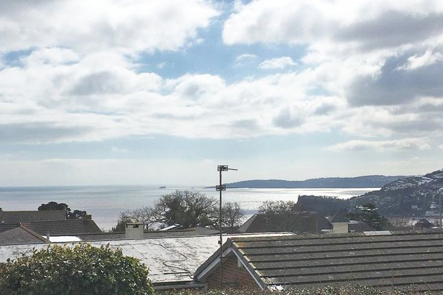 Thumbnail Detached bungalow for sale in Ness View Road, Teignmouth