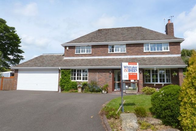 Thumbnail Detached house for sale in Cedar Court, Congleton, Cheshire