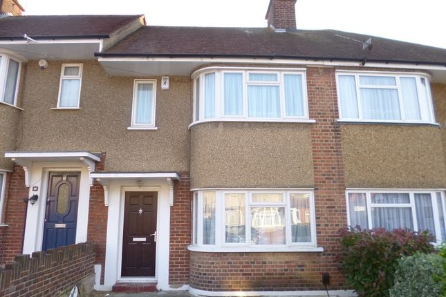 Thumbnail Terraced house to rent in Hartland Drive, Ruislip