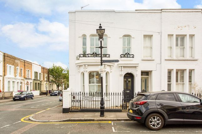 Thumbnail End terrace house for sale in Tredegar Terrace, London