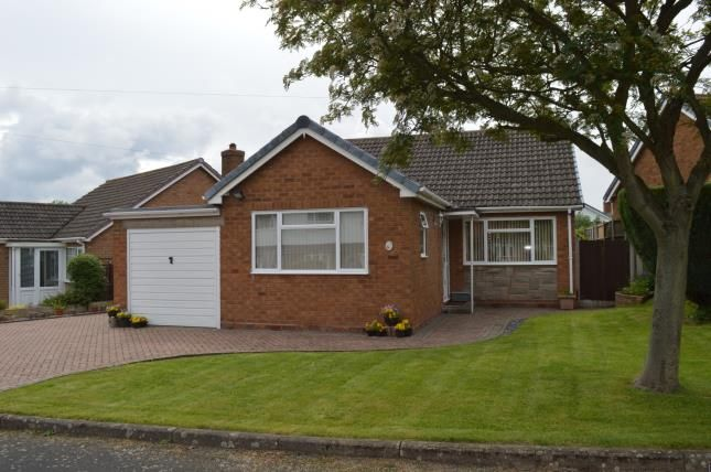 Thumbnail Bungalow for sale in Middleton Road, Whittington, Near Lichfield, Staffordshire