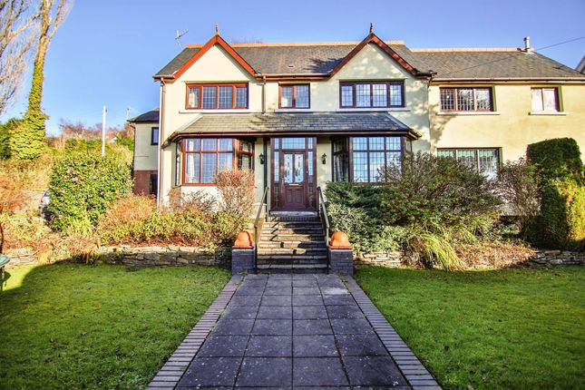 Thumbnail Detached house for sale in Pencoed Avenue, The Common, Pontypridd
