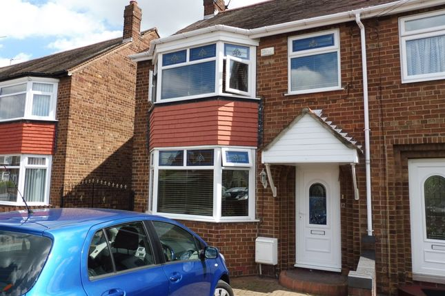 Thumbnail Semi-detached house for sale in Mollison Road, Hull