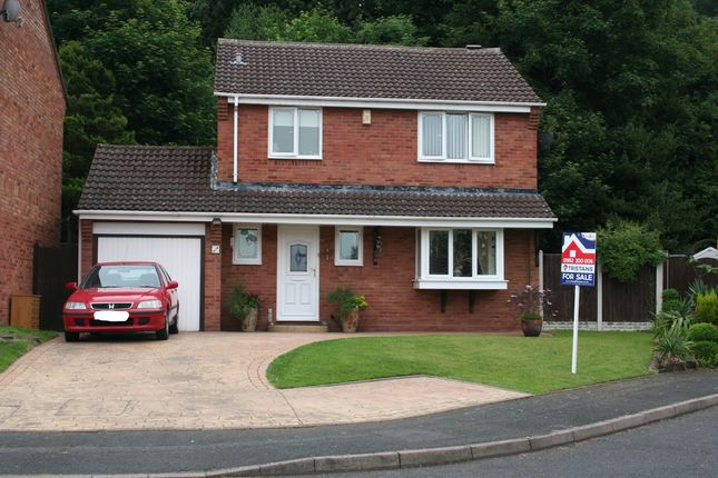 Thumbnail Detached house for sale in Hutchinson Way, Telford