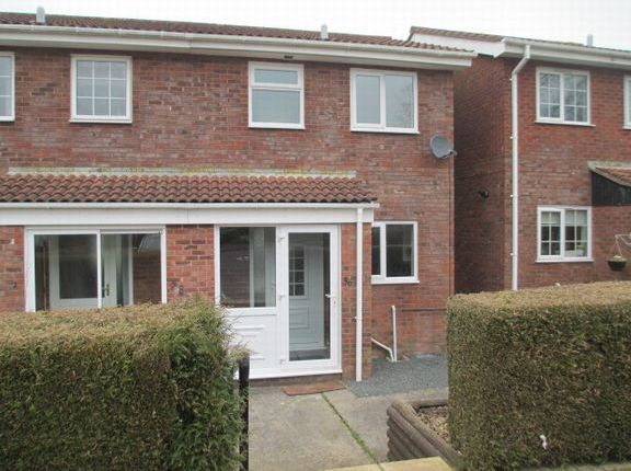 Thumbnail Semi-detached house to rent in Roman Way, Honiton