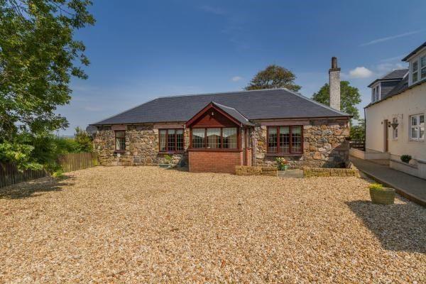 Thumbnail Detached bungalow for sale in Gatehead Farm, Kilmarnock