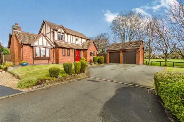 Thumbnail Detached house for sale in Sandicroft Close, Birchwood, Warrington, Cheshire