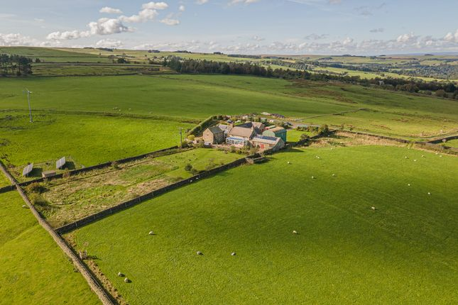 Thumbnail Farmhouse for sale in High Broadwood Hall, Allendale, Hexham, Northumberland