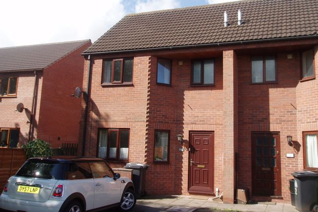Thumbnail End terrace house to rent in Victoria Court, Market Drayton