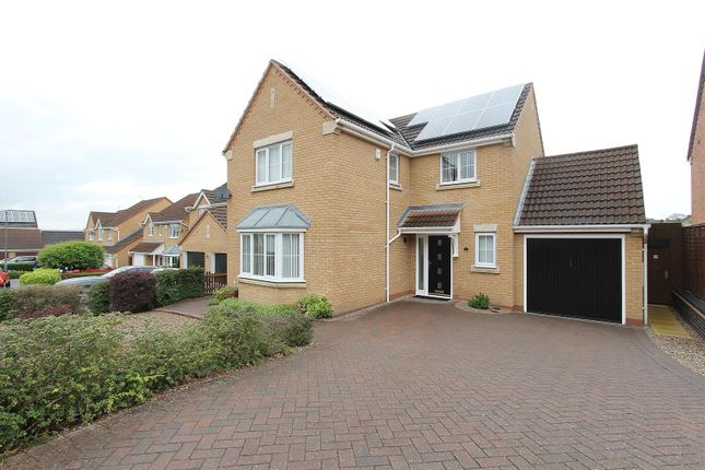 Thumbnail Detached house for sale in Kirby Close, Hasland, Chesterfield