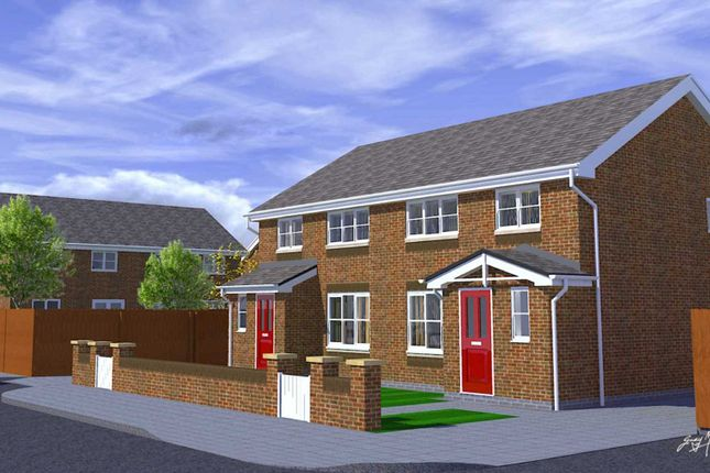 Thumbnail Semi-detached house for sale in Corbet Walk, Kirkby, Liverpool