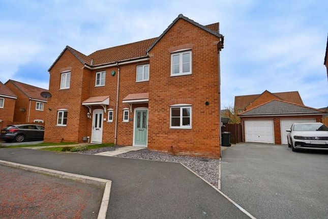 3 bed semi-detached house for sale in Cloverfield, West Allotment, Newcastle Upon Tyne NE27