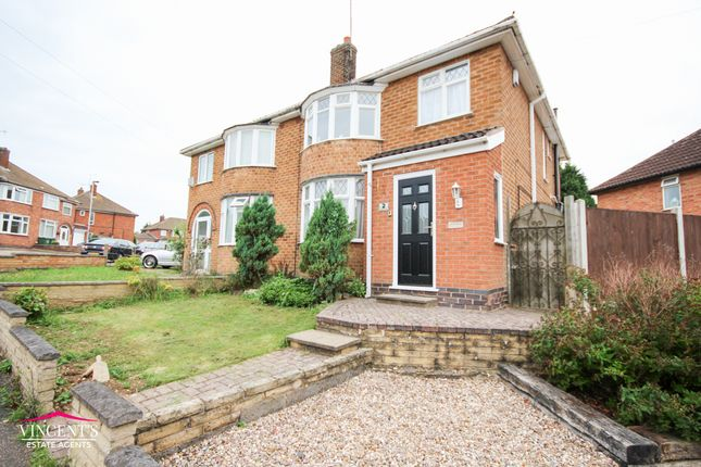Thumbnail Semi-detached house for sale in Castleford Road, Leicester
