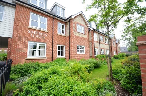 Thumbnail Flat for sale in Saffron Lodge, Radwinter Road, Saffron Walden, Essex