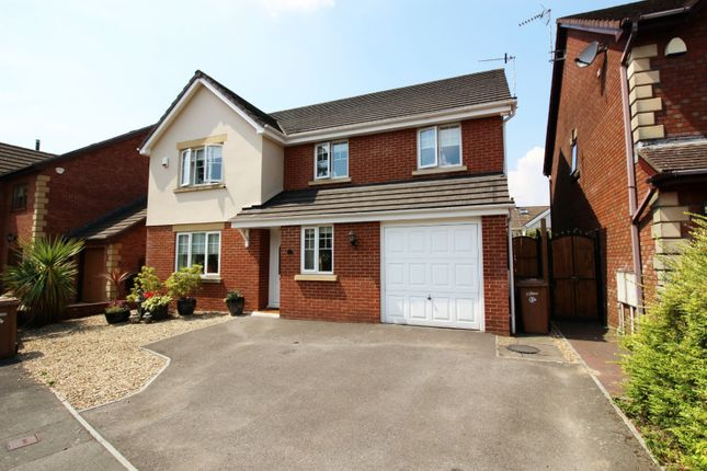 Thumbnail Detached house for sale in Gwern Y Sant, Blackwood, Gwent