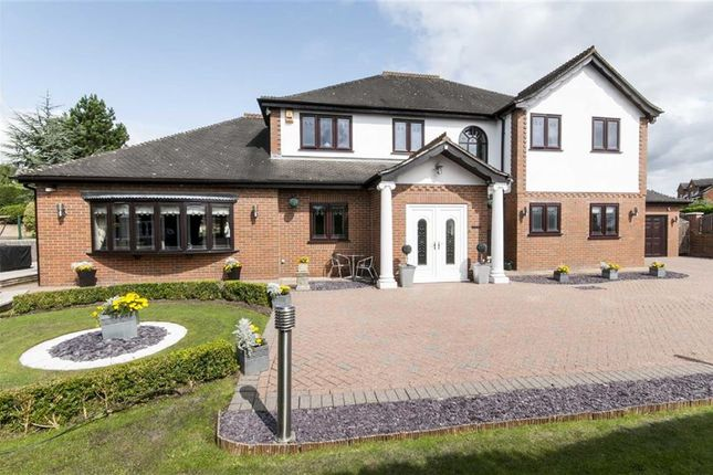 Thumbnail Detached house for sale in Lea Vale, Broadmeadows, South Normanton, Alfreton