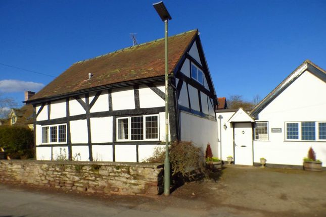 Thumbnail Cottage to rent in Back Lane, Weobley, Hereford