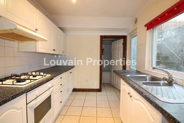 Thumbnail 3 bed terraced house for sale in Dyffryn Road, Waunlwyd, Ebbw Vale, Blaenau Gwent.